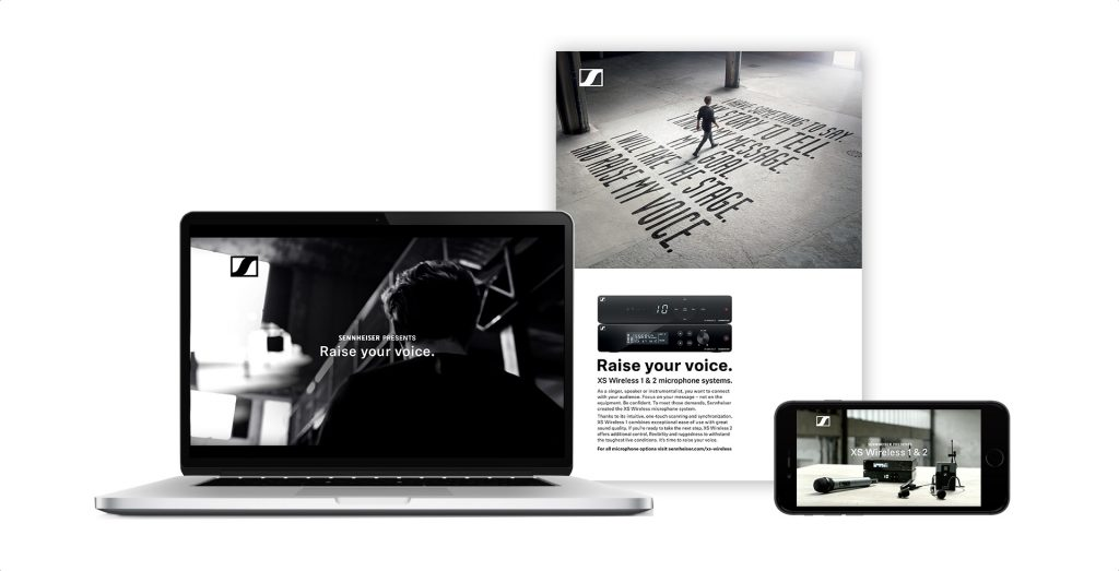 Sennheiser XS Wireless Kampagne Key Visual Film