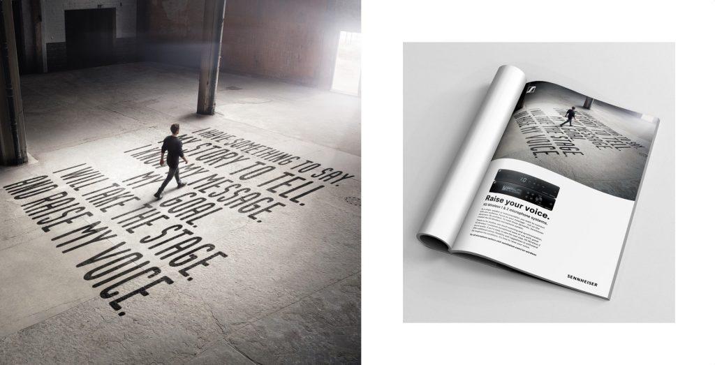 Sennheiser XS Wireless Kampagne Key Visual