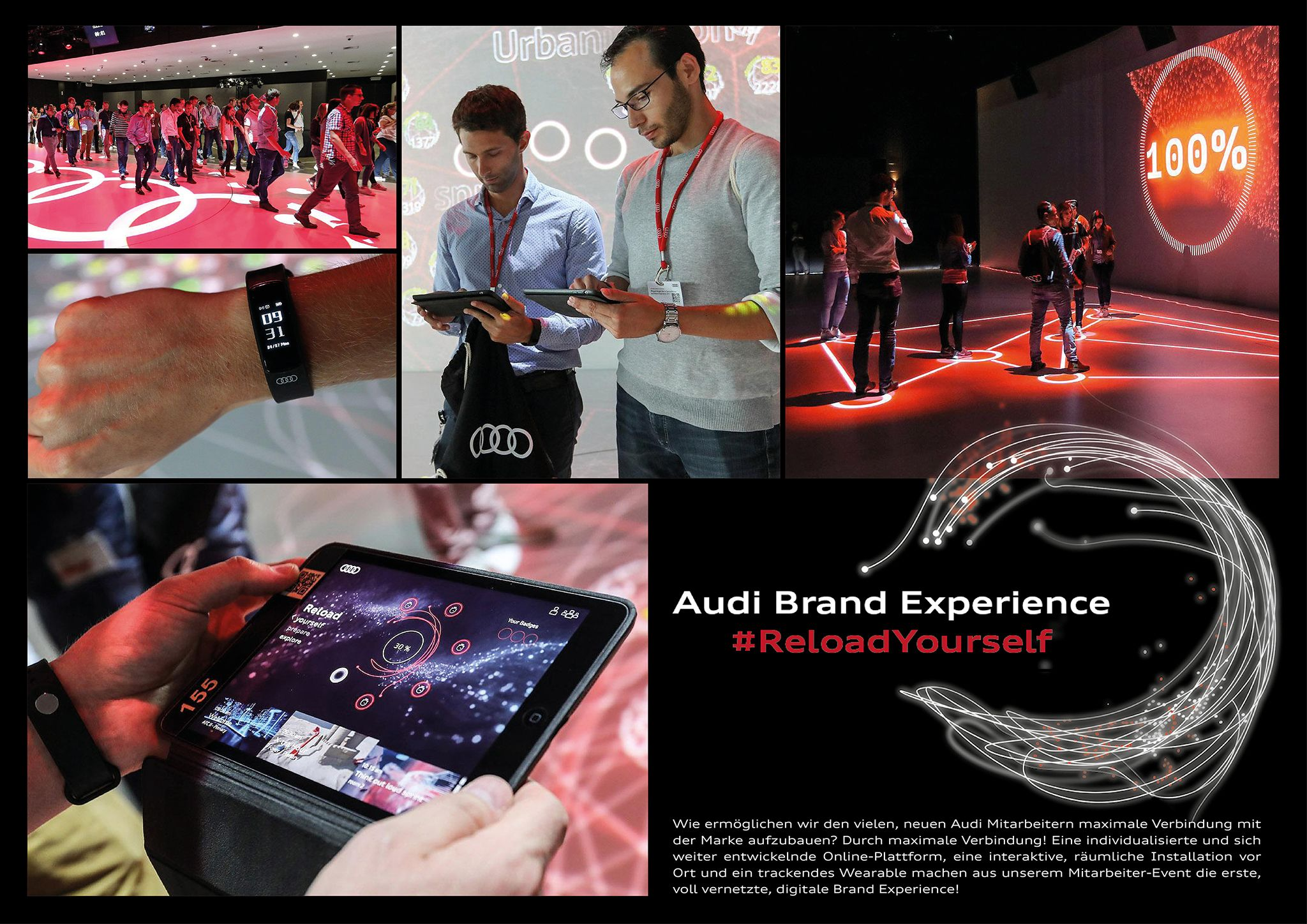 Audi Brand Experience Reload Yourself Event